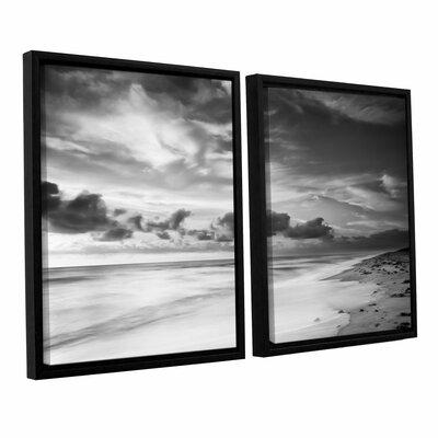 Atlantic Sunrise No.20 2 Piece Framed Photographic Print Set