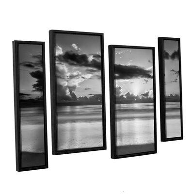 Atlantic Sunrise No.19 4 Piece Framed Photographic Print Set
