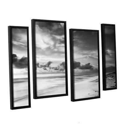 Atlantic Sunrise No.20 4 Piece Framed Photographic Print Set