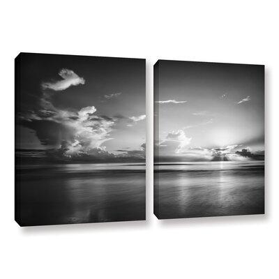 Atlantic Sunrise No.27 2 Piece Photographic Print on Wrapped Canvas Set