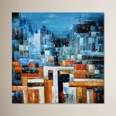 Abstract Painting on Canvas LTRN4917 30596630
