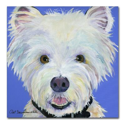 Amos Painting Print on Wrapped Canvas