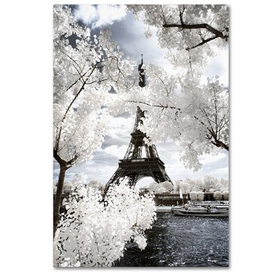 Another Look at Paris IV Photographic Print on Wrapped Canvas