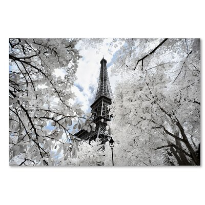 Another Look at Paris V Photographic Print on Wrapped Canvas