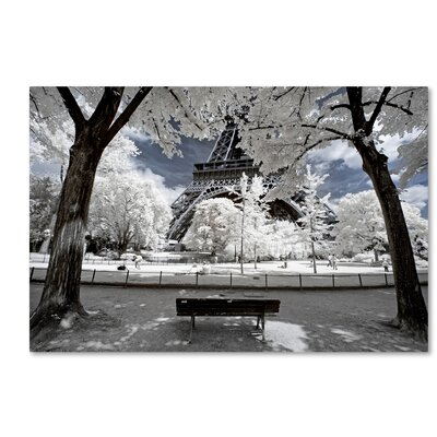Another Look at Paris VI Photographic Print on Wrapped Canvas