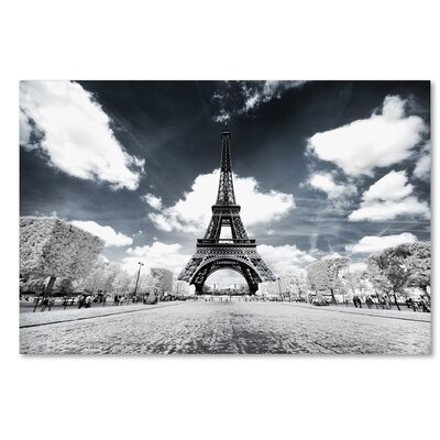 Another Look at Paris VII Photographic Print on Wrapped Canvas