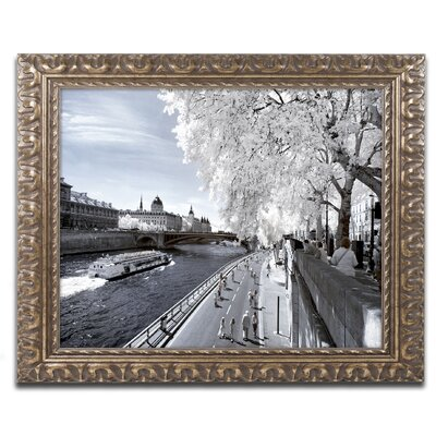 Another Look at Paris X Framed Photographic Print