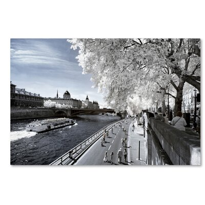 Another Look at Paris X Photographic Print on Wrapped Canvas