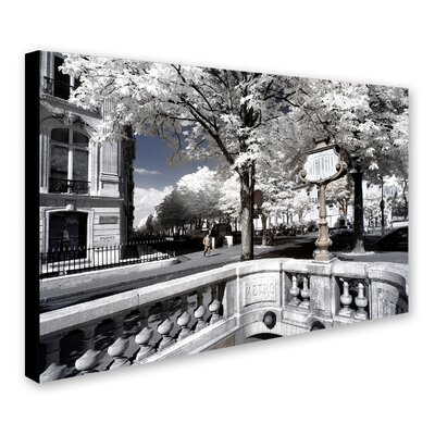 Another Look at Paris XII Photographic Print on Wrapped Canvas
