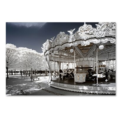 Another Look at Paris XIV Photographic Print on Wrapped Canvas