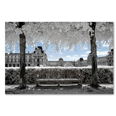 Another Look at Paris XIX Photographic Print on Wrapped Canvas