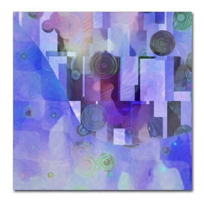 Artdeco Painting Print on Wrapped Canvas