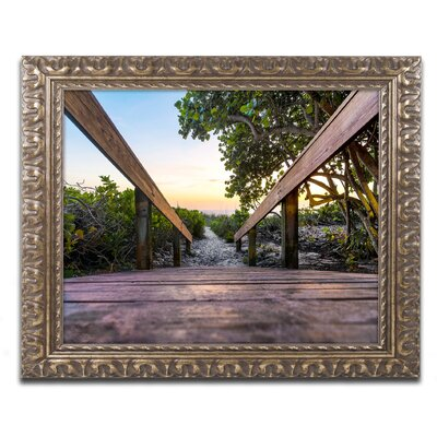 Boardwalk Miami Framed Photographic Print