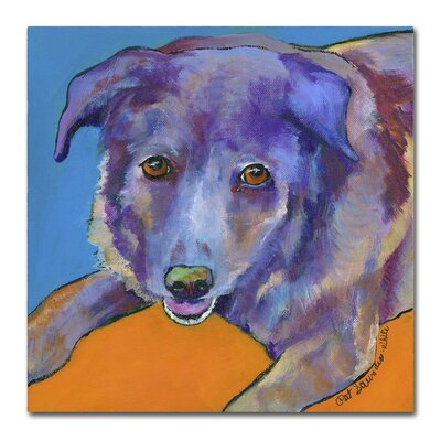 Butch Painting Print on Wrapped Canvas