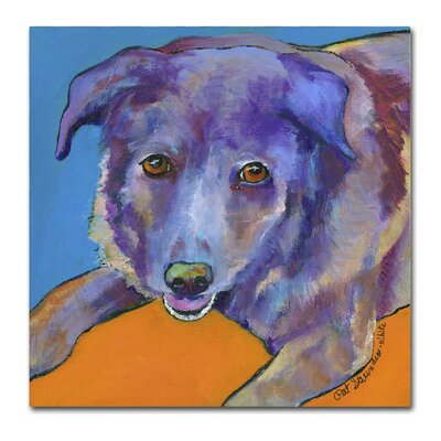 Butch Painting Print on Wrapped Canvas Size: 14