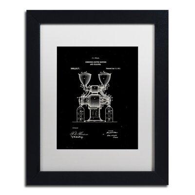 Coffee Grinder Patent 1911 Black Gicl�e Framed Graphic Art LTRN7824 30965149