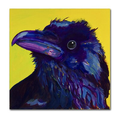 Corvus Painting Print on Wrapped Canvas Size: 14