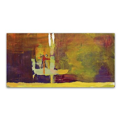 Crossing Over Painting Print on Wrapped Canvas Size: 10
