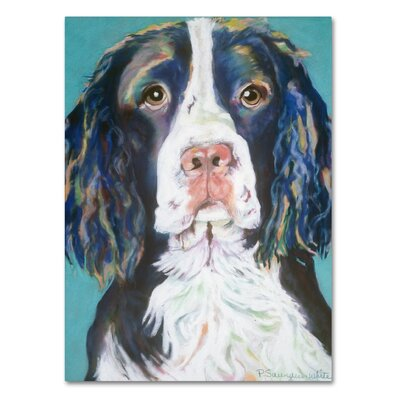 Dodger Painting Print on Wrapped Canvas