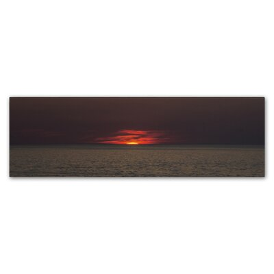 End of Another Beautiful Day Photographic Print on Wrapped Canvas