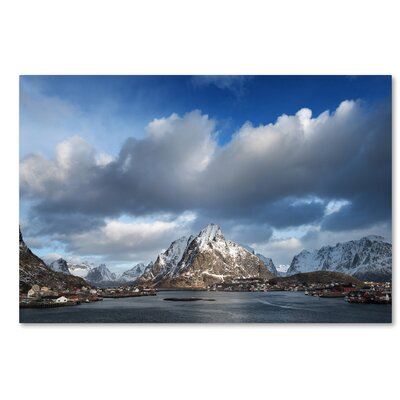 Happy Hour in Norway Photographic Print on Wrapped Canvas Size: 12