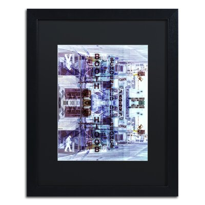 New York Reflection VI Framed Photographic Print