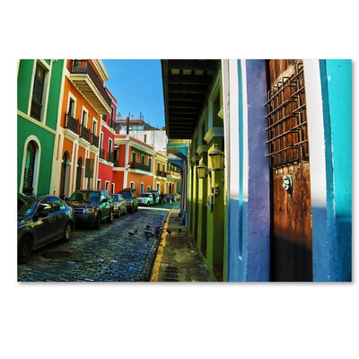 Old San Juan 11 Photographic Print on Wrapped Canvas