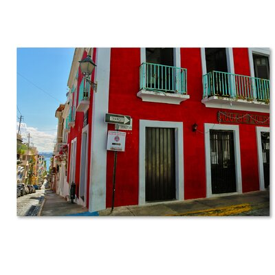 Old San Juan 13 Photographic Print on Wrapped Canvas Size: 12