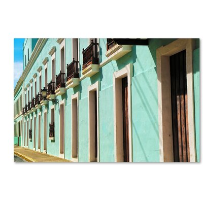 Old San Juan 2 Photographic Print on Wrapped Canvas