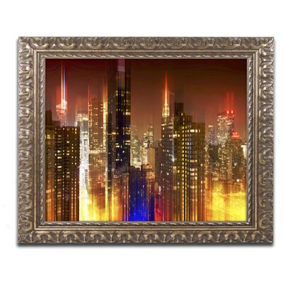 Urban Stretch NYC I Framed Photographic Print Size: 11