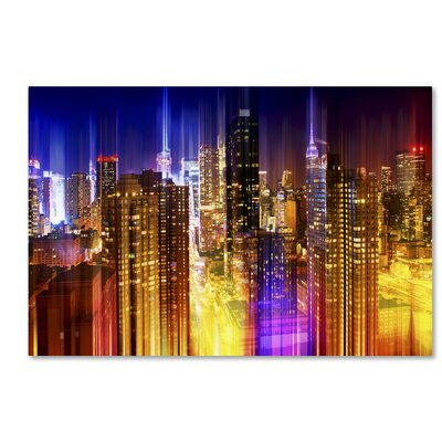 Urban Stretch NYC VII Photographic Print on Wrapped Canvas Size: 12