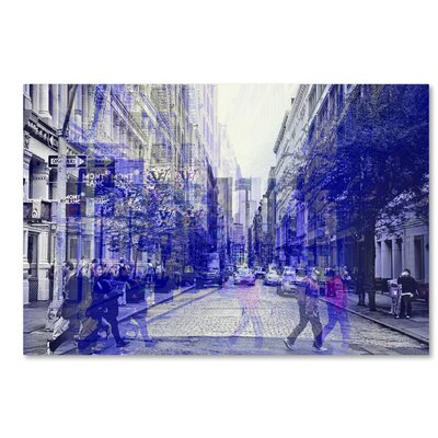 Urban Vibrations Soho Photographic Print on Wrapped Canvas