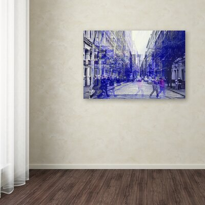 "Urban Vibrations Soho Photographic Print on Wrapped Canvas Size: 12"" H x 19"" W x 2"" D LTRN8358 30966891"