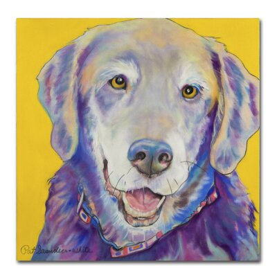 Willie Painting Print on Wrapped Canvas