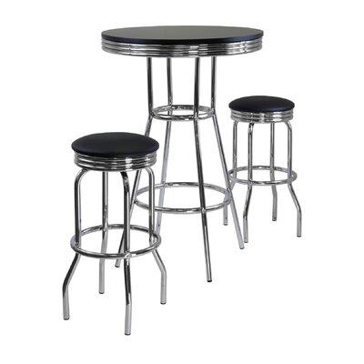 Mackenzie 3 Piece Pub Table Set