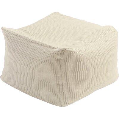 Mabel Pouf Ottoman Upholstery: Ivory