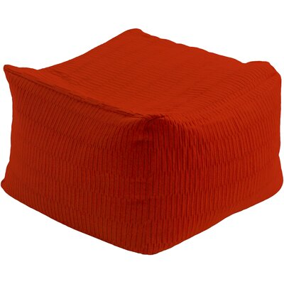 Mabel Pouf Upholstery: Rust