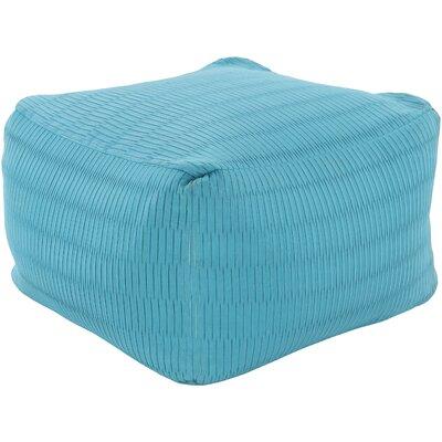 Mabel Pouf Ottoman Upholstery: Sky Blue
