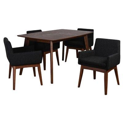 Bohostice 5 Piece Dining Set