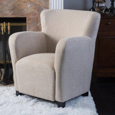 Kelsey Wing back Chair Upholstery: Light Beige