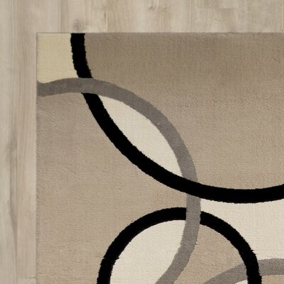 Anthony Beige/Black Area Rug