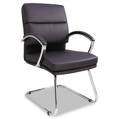 Virginia Series Slim Profile Leather Guest Chair