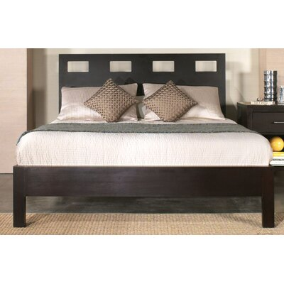 Lottie Platform Bed Size: California King