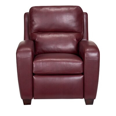 Bochov Club Recliner Color: Belmont Red