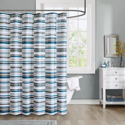 Clara Printed Shower Curtain