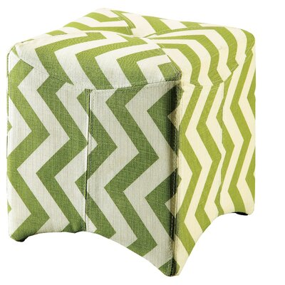 New Rockford Ottoman Upholstery: Green