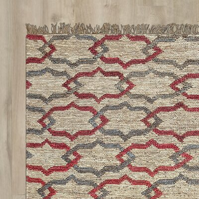 Whalan Hand-Woven Natural Area Rug Size: Runner 2'6
