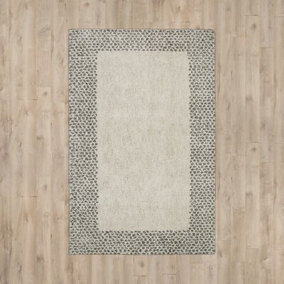 Brano Gray Area Rug Rug Size: Rectangle 8 x 10