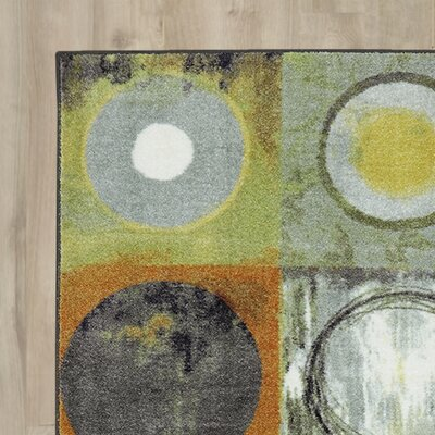 York Yellow Area Rug Rug Size: 5 x 8