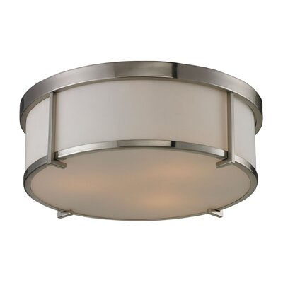 Aurora 3-Light Flush Mount